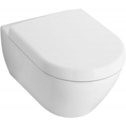 Villeroy & Boch, WC suspendu compact Subway 2.0 blanc. 56061001