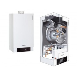 Viessmann chaudière murale gaz à condensation Vitoladens 300-W 23,5 kW brûleur modulant J3HA016