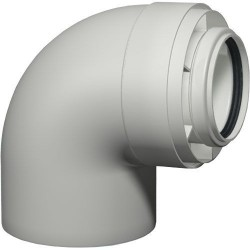 Viessmann Coude coaxial 87°, PPs, D80/125 mm 7194323