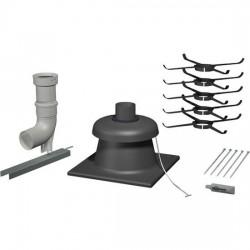 Viessmann Elément de base conduit,PPs, flexible,D80mm 7248213