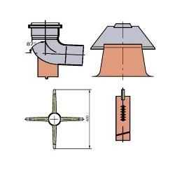Viessmann Elément de base du conduit PPs,simple D80 7194305