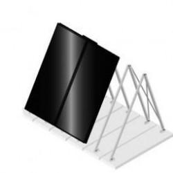 Viessmann Système de fixation 2xSH2C plaques ondulées 5/6 Z008561