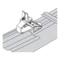 Viessmann Système de fixation 2xSVK tuiles mécaniques Z012919