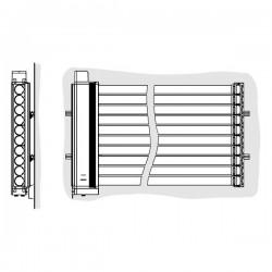 Viessmann Système de fixation SP2A H façade/balcon ZK00825