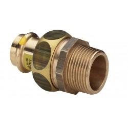 Viega Raccord 3 pièces Profipress gaz 2654 1/2 mâle x15 379391