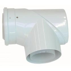 Vaillant T concentrique + entretien de volet Ecotec Plus PP 110/160 mm 0020106383