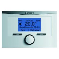 Vaillant thermostat d'ambiance modulaire numérique minuterie hebdomadaire VRT350F classe V (3%) 195550351