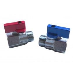 Vanne mini 1/2 bleu 12612B00