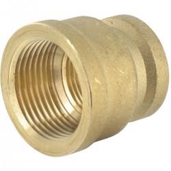 Viega manchon reduit 4/4x1/2 bronze 266363