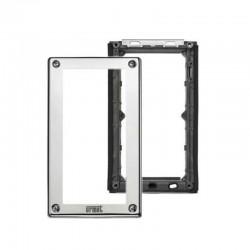Urmet cadre et porte module pour 2 modules métal 1158/62