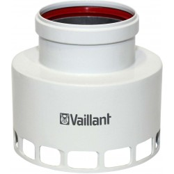 Vaillant adaptateur excentrique aluminium avec diamètre 60/100-80 mm  303815