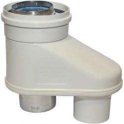 Vaillant adaptateur verticale Ecomax 2X80/80-125mm 24-28KW  303623
