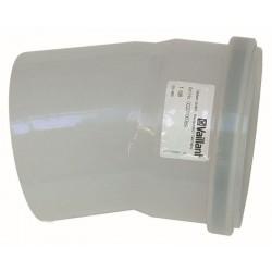 Vaillant coude 30°  Ecotec Plus PP 110mm 0020106390