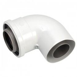 Vaillant coude concentrique 90 degré diamètre 60/100 63592