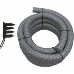 Vaillant flexible condens PP diamètre 80mm set 15m +7 cales d'écartement 303514