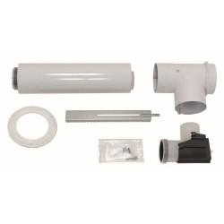 Vaillant kit concentrique diamètre 80/125 pour les chaudières murales et sol à condensation 303250