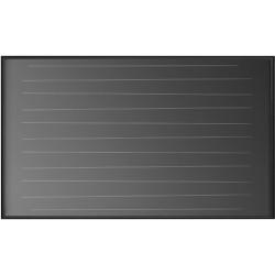 Vaillant panneau solaire VFK 135VD horizontal hauteur 1233 mm largeur 2033 mm profondeur 80 mm  0010008897