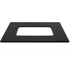Tablette pour lavabo à sous encastrer combo/molto 90cm bleu belge TBBL09052002