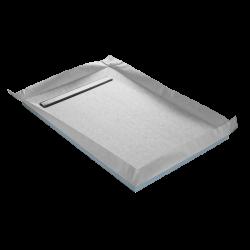 Tub de douche à carreler Lineboard 140x90x4 cm RC14090LINE