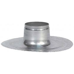Ubbink Passage de toit aluminium  pour plaque de finition toit plat 220 pour 200mm 146184