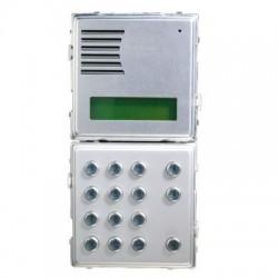 Urmet 2voice portier avec display / 2 mod. sintheso 1083/13