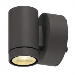 SLV Applique extérieure HELIA (1), LED, 3000 K, IP55, anthracite, 8 W