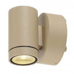 SLV Applique extérieure HELIA (1), LED, 3000 K, IP55, beige, 8 W