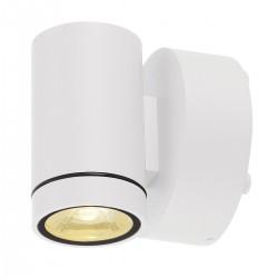 SLV Applique extérieure HELIA (1), LED, 3000 K, IP55, blanc, down, 8 W