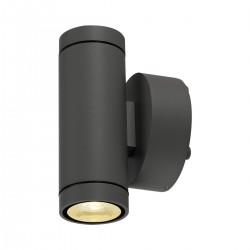 SLV Applique extérieure HELIA (2), LED, 3000 K, IP55, up/down, anthracite, 2 x 6 W