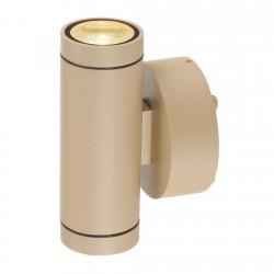 SLV Applique extérieure HELIA (2), LED, 3000 K, IP55, up/down, beige, 2 x 6 W