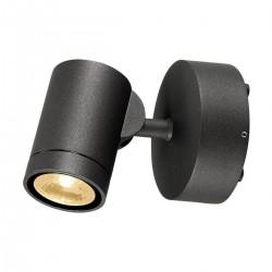 SLV Applique outdoor HELIA (1), une lampe, LED, 3000 K, IP55, anthracite, orientable, 8 W