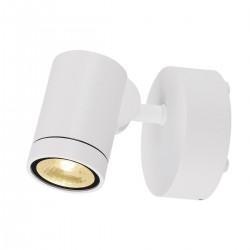 SLV Applique outdoor HELIA (1), une lampe, LED, 3000 K, IP55, blanc, orientable, 8 W