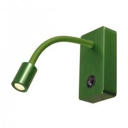 SLV Applique PIPOFLEX, LED, 3000 K, vert