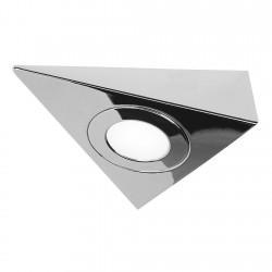 SLV Cadre de montage pour encastré DL 126, triangle, chrome