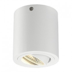 SLV Triledo Round CL, LED, 3000 K, rond, blanc, 38°, 8,2 W, incl. Alimentation