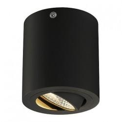 SLV Triledo Round CL, LED, 3000 K, rond, noir mat, 38°, 6,2 W, incl. Alimentation