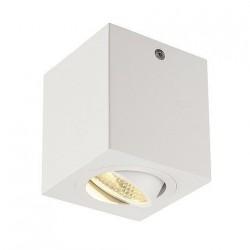 SLV Triledo Square CL, LED, 3000 K, carré, blanc, 38°, 8,2 W, incl. Alimentation