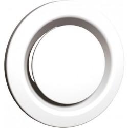 Soler & palau Bouche d'extraction et de pulsion reglable 125mm blanche BEIP125