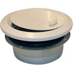 Soler & Palau Bouche d'induction reglable bir ventilation type d 120m³/h 125mm metal blanche BIR125