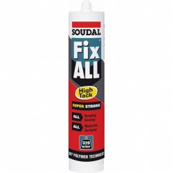 Soudal fix all high tack blanc 100268