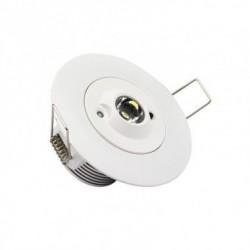 Spot Downlight de Secours LED 3W 30° LZ-EM-DWNLGHT-3-30º