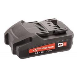 Rothenberger batterie 18v 2.0ah 1000001652