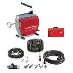 Rothenberger Machine de nettoyage R 600 avec set flexible/ outil