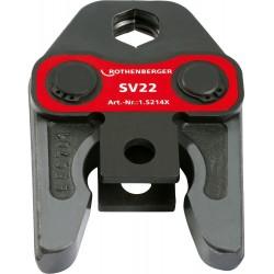 Rothenberger mâchoire à sertir TH pour alupex 16 mm  015322X