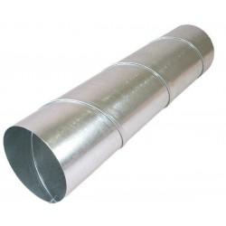 Sanutal gaine galvanisé diamètre 100 mm longueur 3m 139190