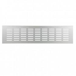 Renson Grille d'aération 381 DIY 400x80 anodisé naturel 33811041