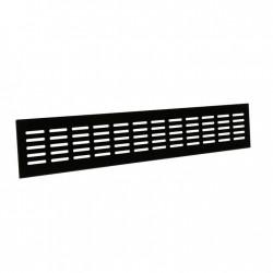 Renson Grille d'aération 381 DIY 500x80 noir brun RAL8022 33811057