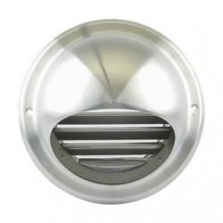 Renson Grille d'aération ronde 638 DIY avec diametre de 150mm en inox 06381501