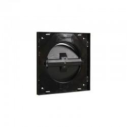 Renson Grille de base diamètre Ø125mm 174x174 avec réglable noir 66031625