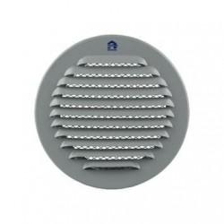 Renson Grille estampee circulaire - 435R - diamètre 115mm - RAL9006 DIY  (par 5 pièces) 04351151